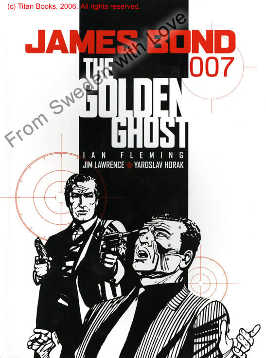 The Golden Ghost graphic novel