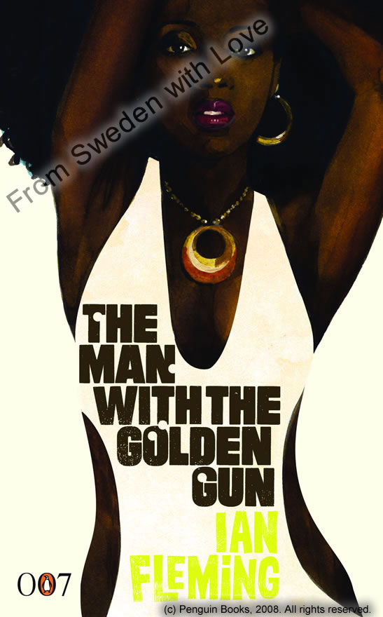 The man with the golden gun centenary ed novel