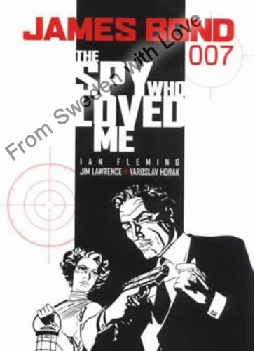 The spy who loved me graphic novel