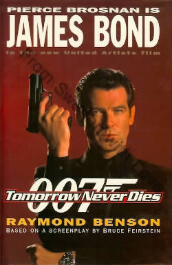 First UK edition of Tomorrow Never Dies (1997)