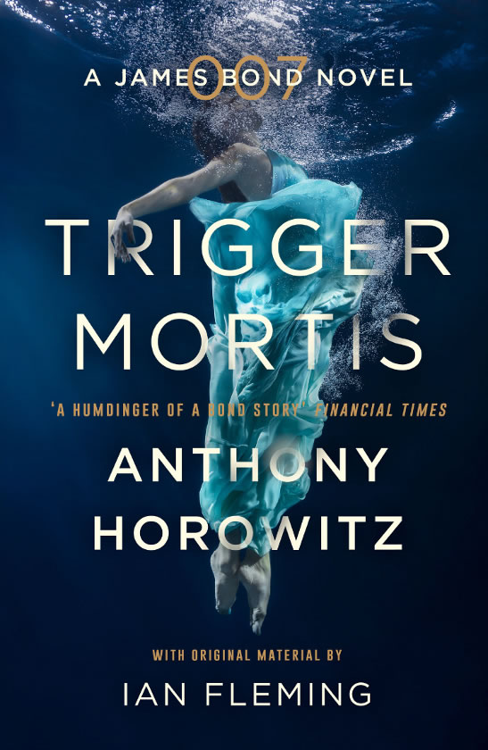 First edition UK hardcover of Trigger Mortis