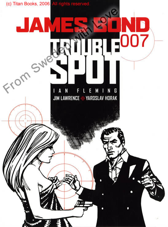 Trouble spot graphic novel