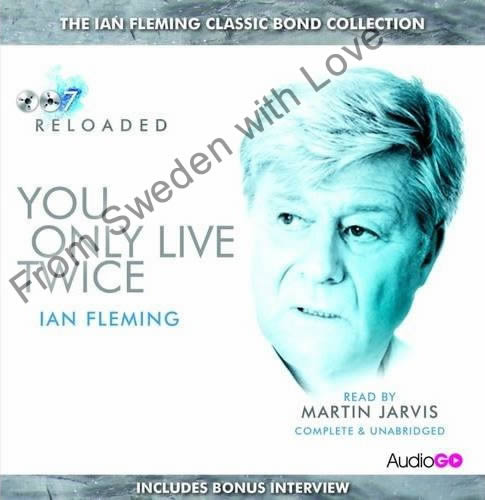 You Only Live Twice BBC audiobook