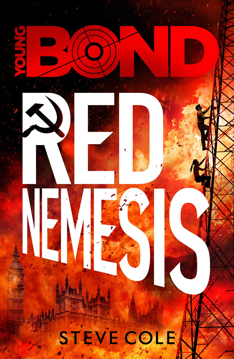 First edition UK hardcover of Red Nemesis (2017)