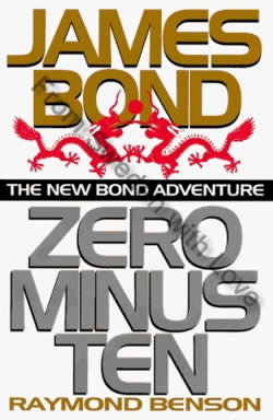 First UK edition of Zero Minus Ten (1997)