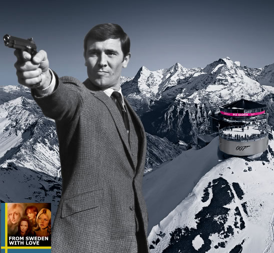 007 Walk of Fame Schilthorn Murren Schweiz
