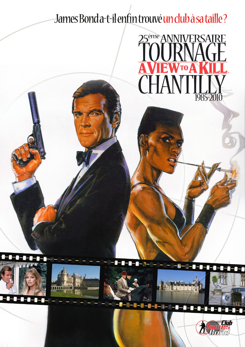 25eme anniversaire A view to a kill chantilly