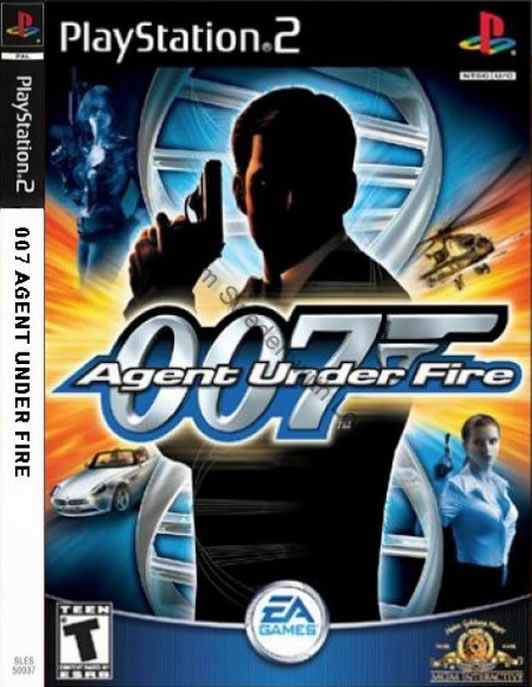 Agent Under Fire video game 2001 PS2
