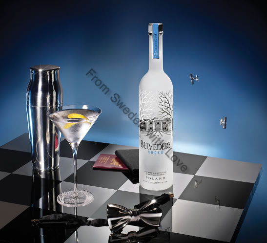 Belvedere Vodka Announces Partnership SPECTRE
