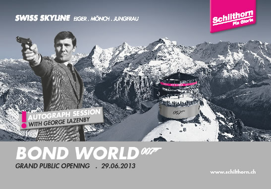 Bond World Schilthorn opens