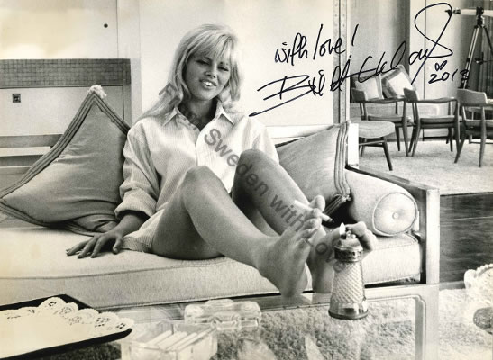 Britt Ekland Pier Luigi 1964 photo auction
