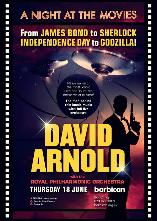 David Arnold Live in Concert A Night at Movies