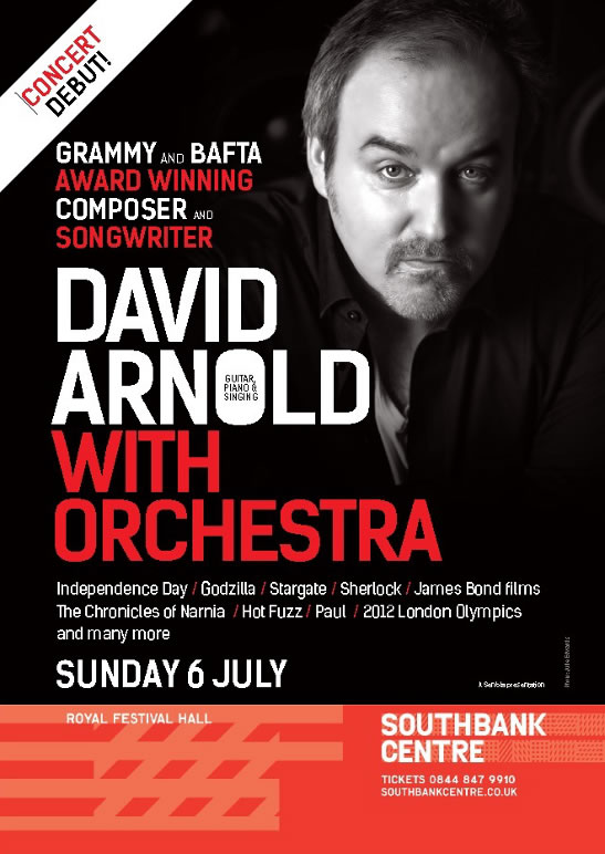 David Arnold Live in Concert London Southbank