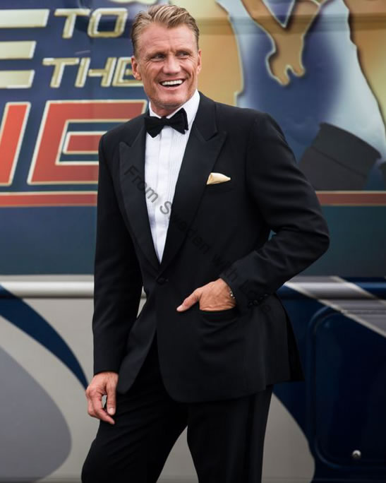 Dolph Lundgren Race to the Scene TV6 2014