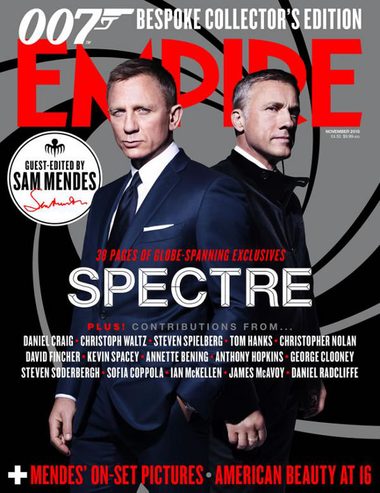 Empire magazine SPECTRE issue