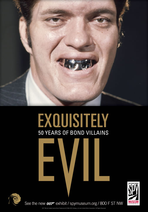 Exquisitely Evil 50 Years of Bond Villains