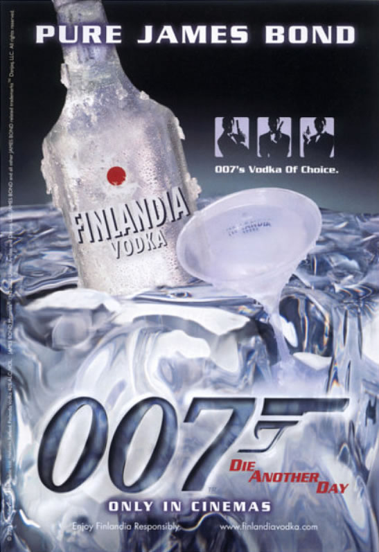 Finlandia Pure James Bond vodka