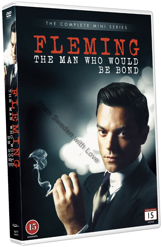 Fleming The Man Who Would Be Bond DVD sv