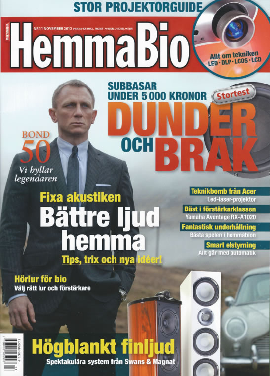 Hemmabio tidning James Bond