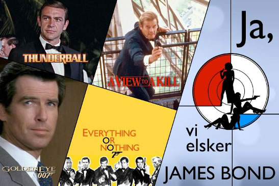 Ja vi elsker James Bond weekend i Oslo