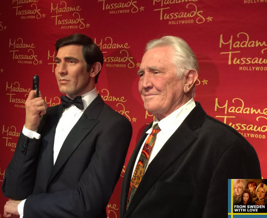 James Bonds at Madame Tussauds Hollywood