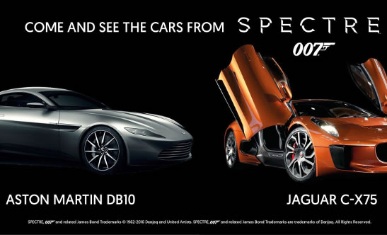 James Bond SPECTRE Top Marques