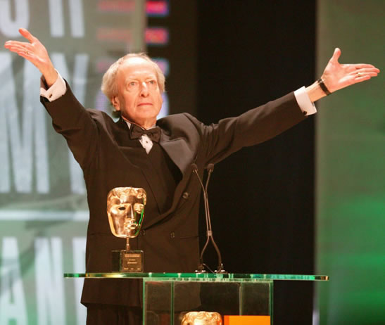 John Barry BAFTA academy fellowship 2005