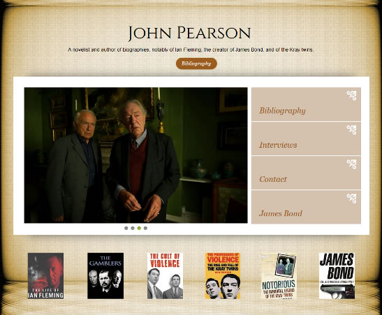 John Pearson official website