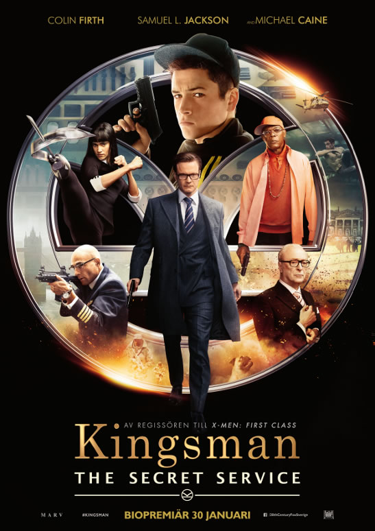 Kingsman The Secret Service affisch