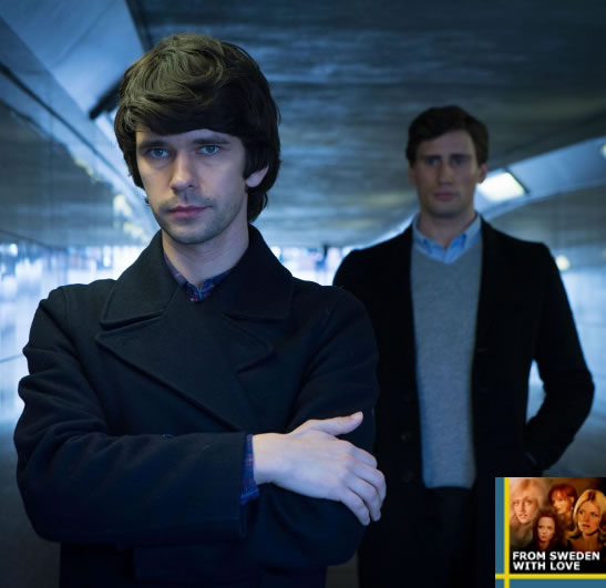 London Spy Ben Whishaw SVT