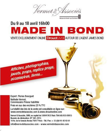 Made in Bond auction 2015