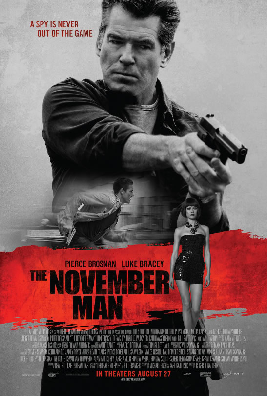 November Man Pierce Brosnan film