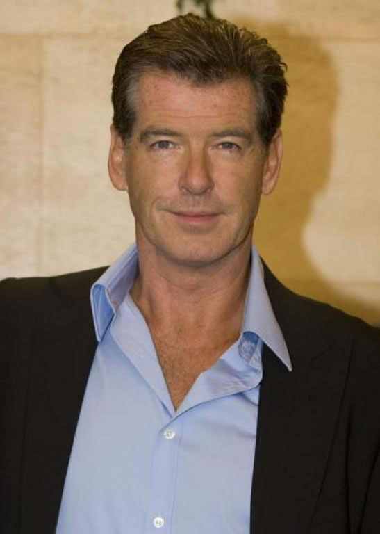 Pierce Brosnan in Stockholm