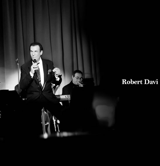 Robert Davi at Vibrato Jazz July 2014