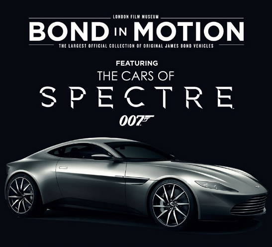 SPECTRE cars Bond in Motion London