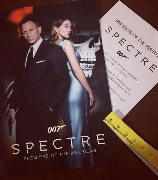 SPECTRE gala premiere in Mexico City