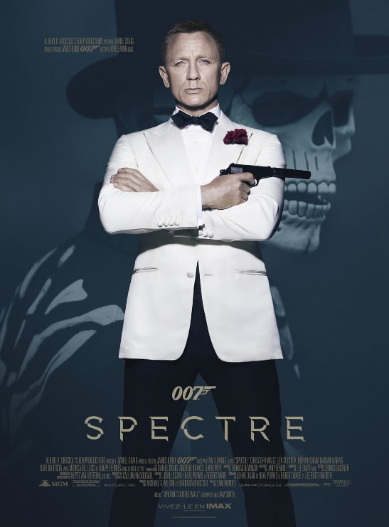 SPECTRE gala premiere in Paris