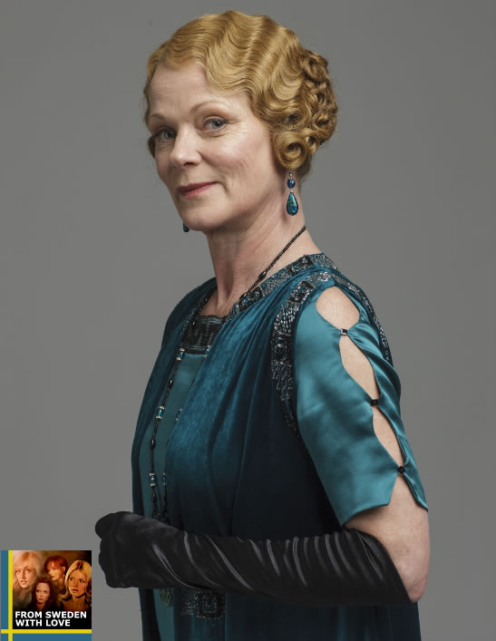 Samantha Bond Downtown Abbey Stockholm 2015