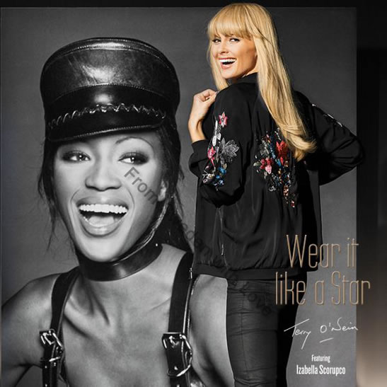 Wear it like a Star Kappahl Izabella Scorupco