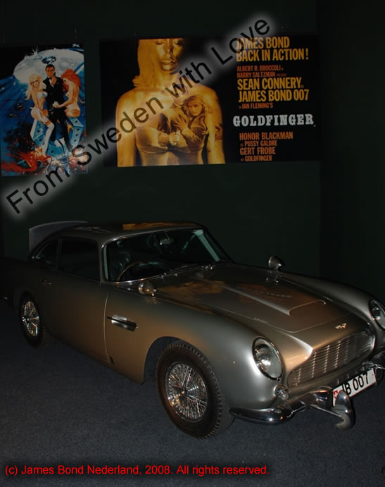 Aston martin DB5 James Bond Nederland