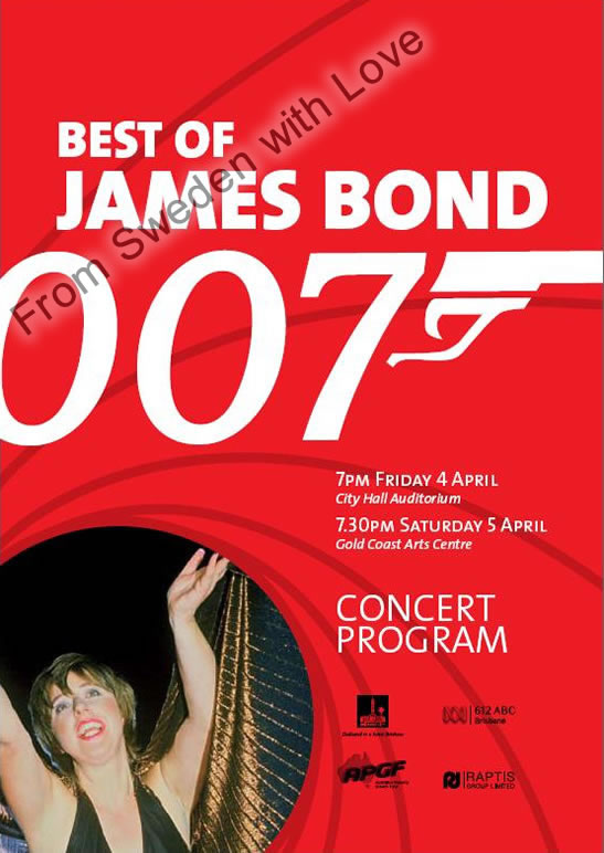 Best of james bond concert