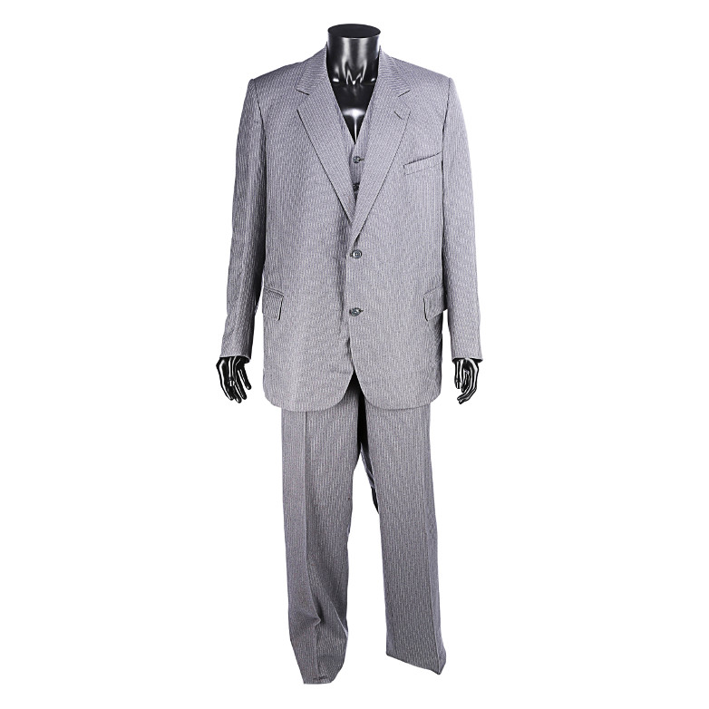 Blofeld's three-piece suit from the 1983 film Never Say Never Again
