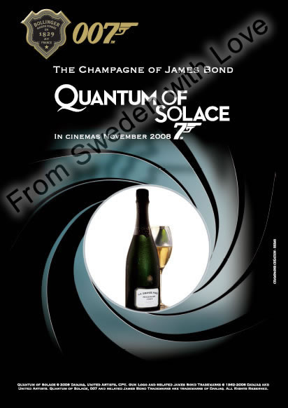 Bollinger quantum of solace