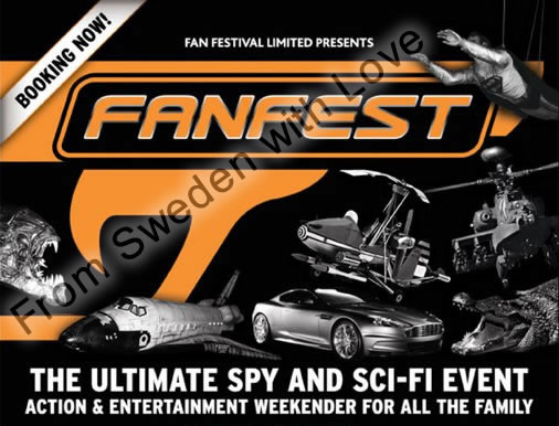 Bond fan fest in london