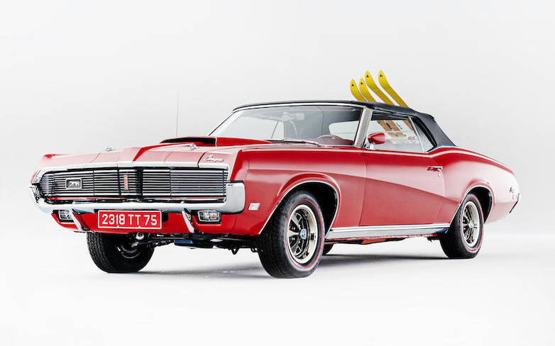 Bonhams 1969 Mercury Cougar Convertible XR-7
