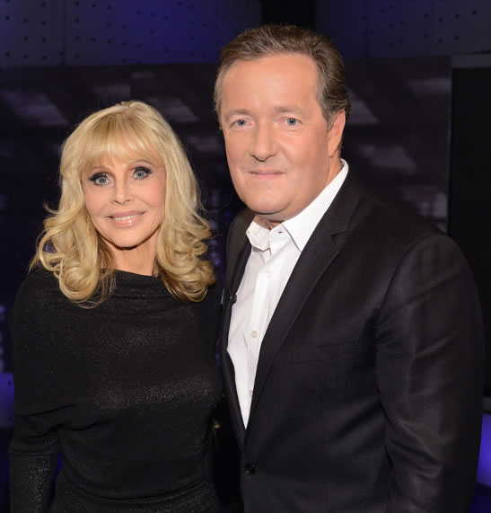 Britt ekland piers morgan life stories