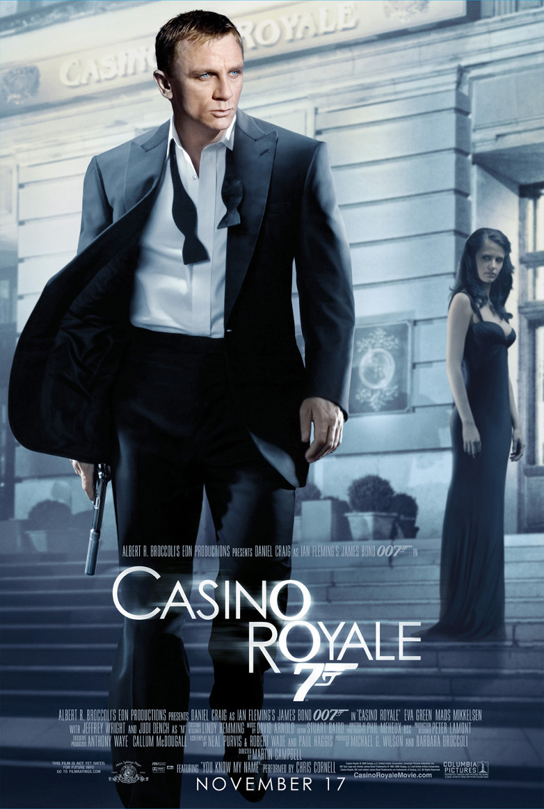 Casino royale 2006 poster