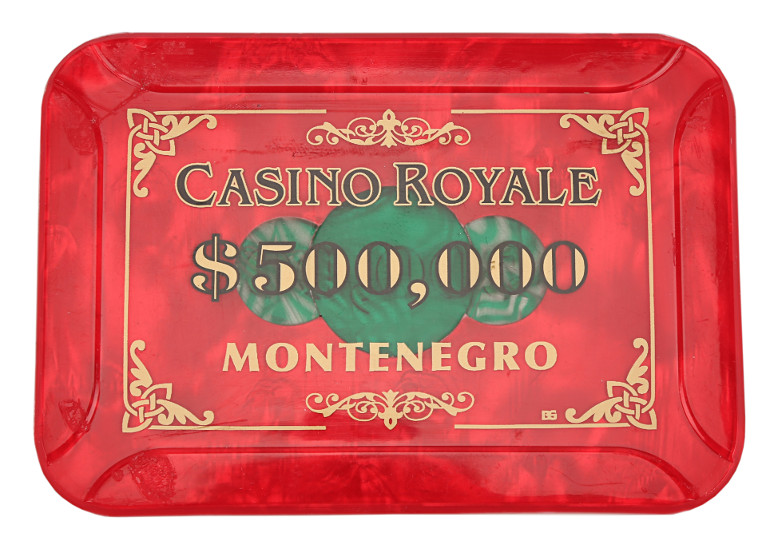 500,000 dollar Casino Chip from Casino Royale