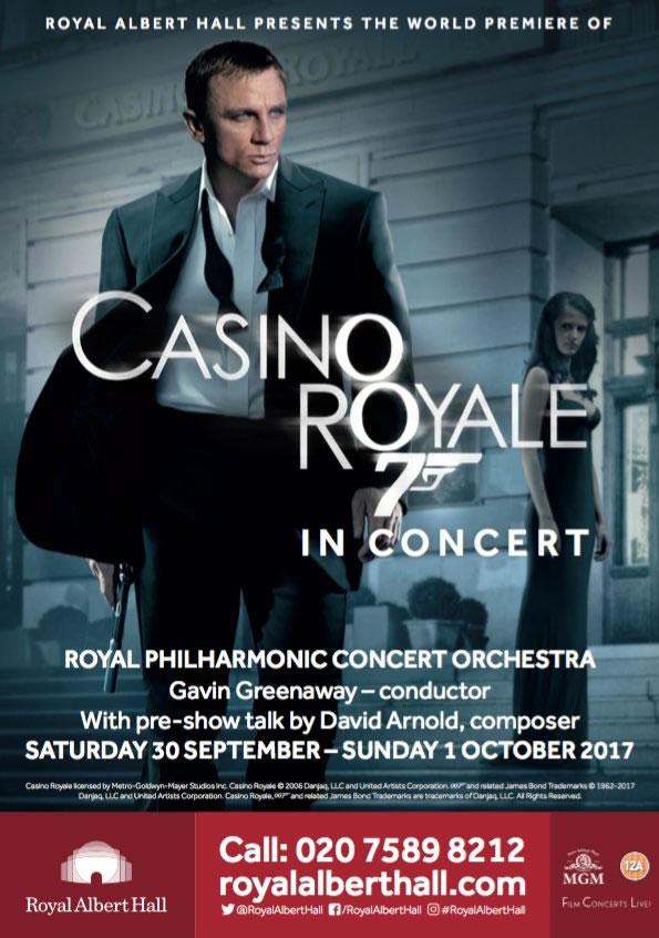 Casino Royale Royal Albert Hall