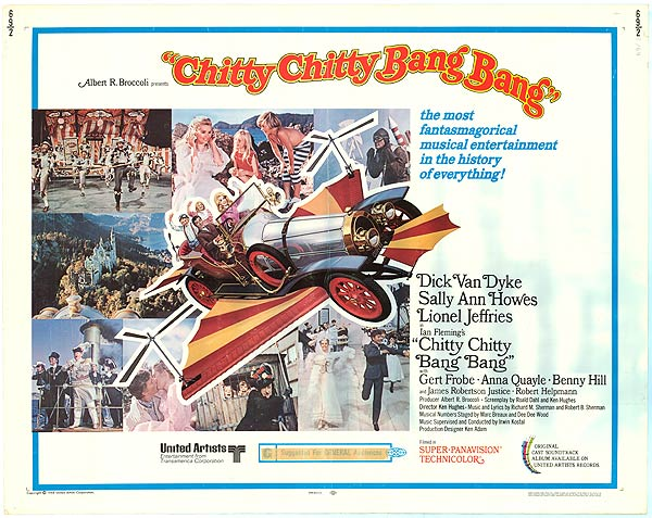 Chitty Chitty Bang Bang UK quad poster